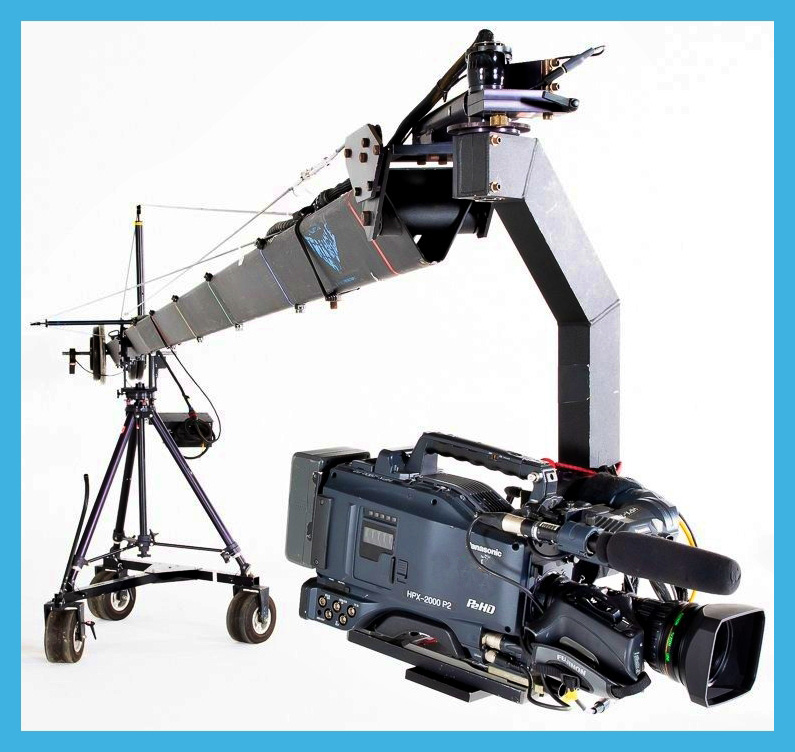 Jimmy jib rental in Italy - Camera crane hire in Tuscany Florence