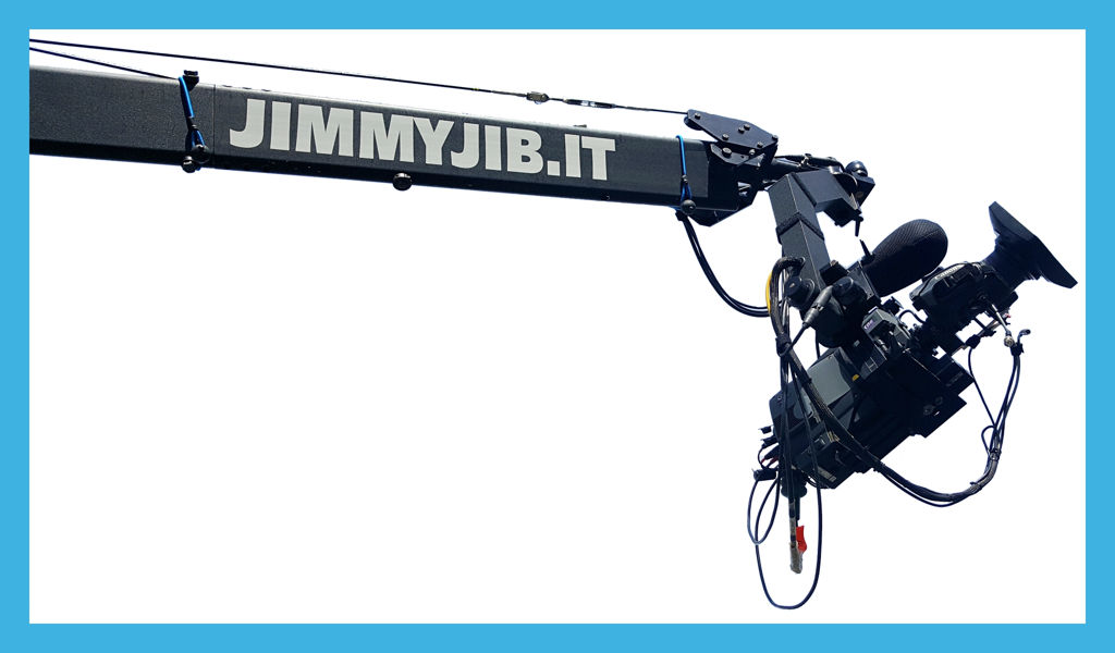 Rental jimmy jib camera crew in Italy